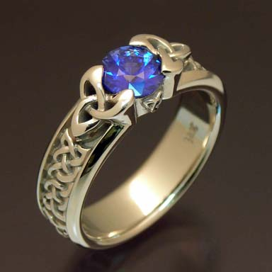 Custom Celtic Ring