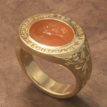 Custom made Jewelry Signet Rings Heraldic Rings Symbol rings